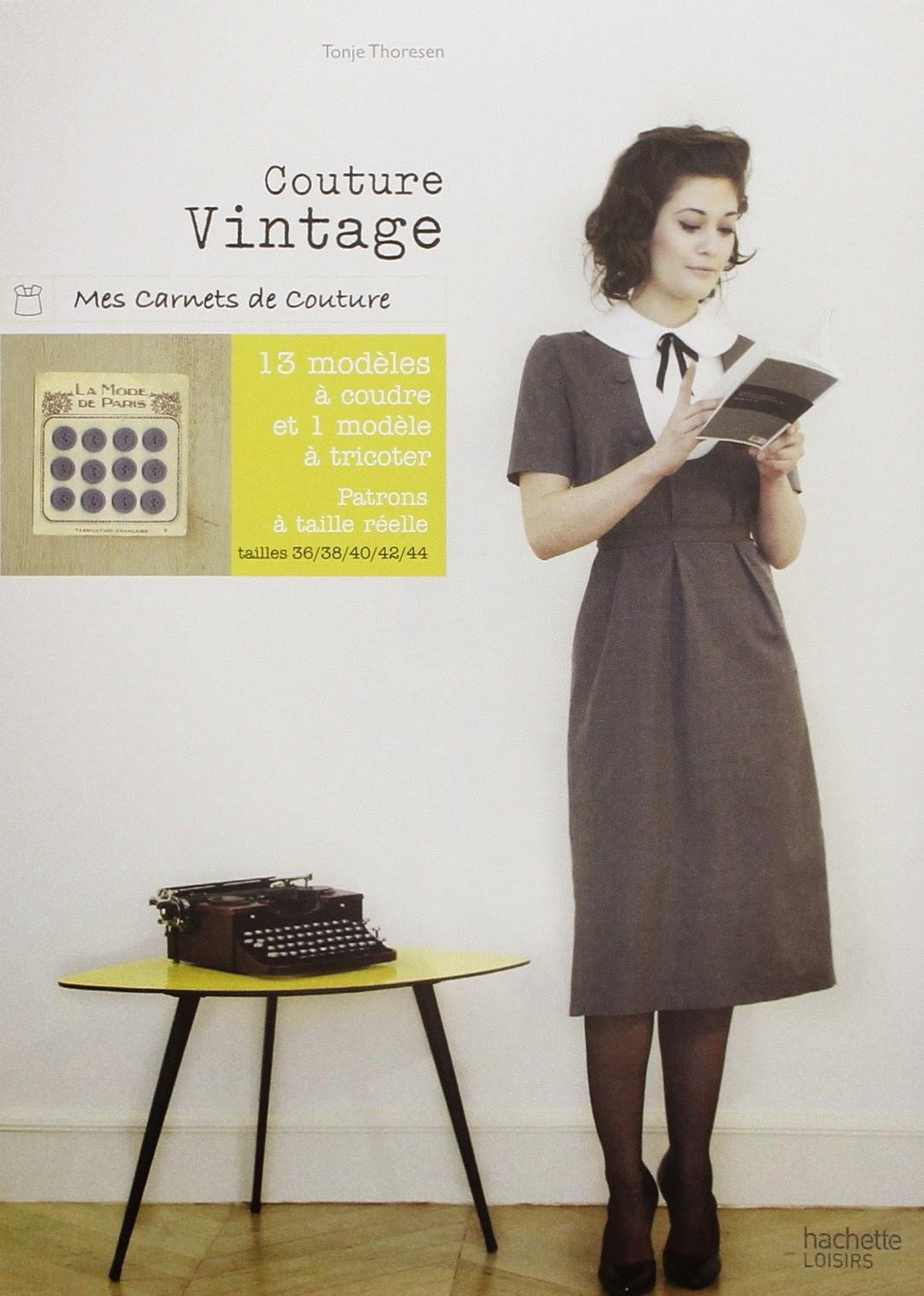 livre couture vintage