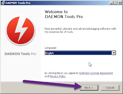 DAEMON Tools Pro crack instructions