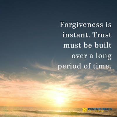 Five Things Forgiveness Is Not by Rick Warren