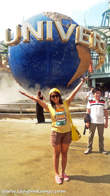 Laagan Kaayo at Universal Studios Singapore