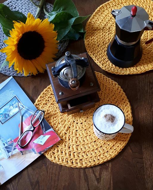 Podkładki ze sznurka bawełnianego/ DIY
