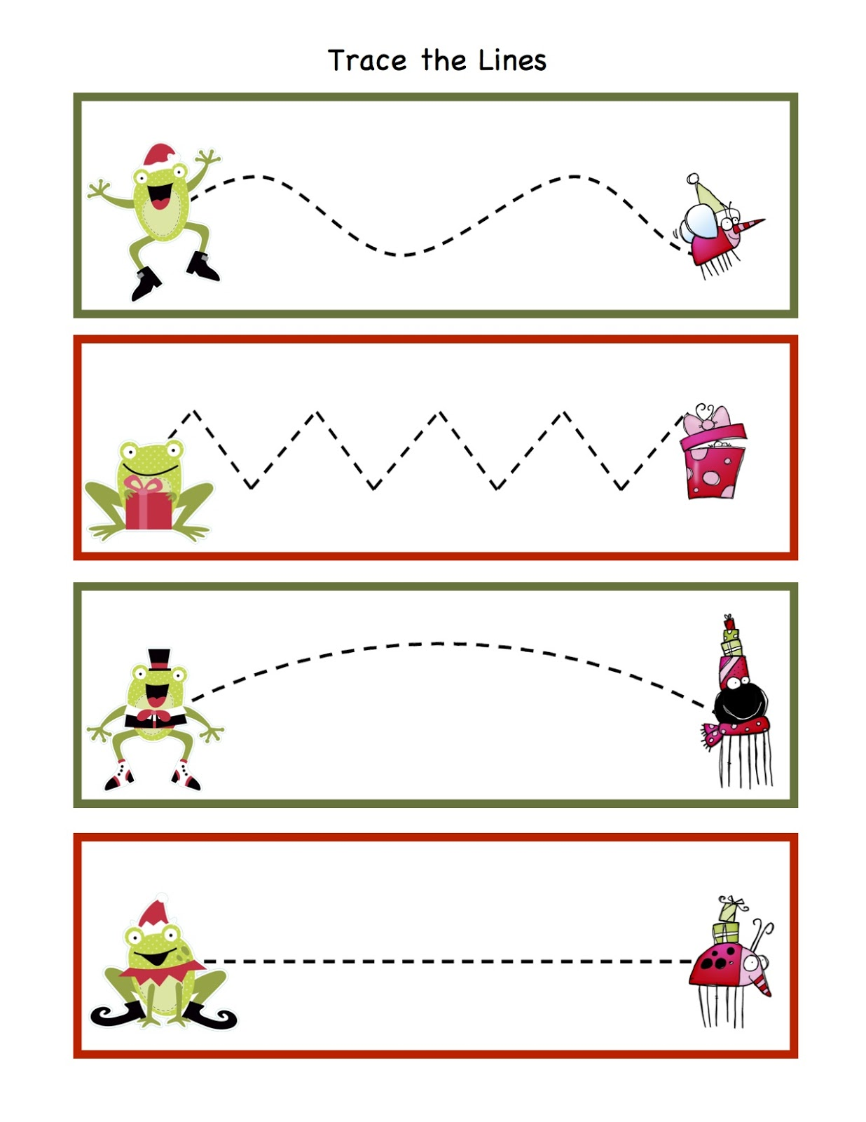 54 Printable Christmas Worksheets For Preschoolers For
