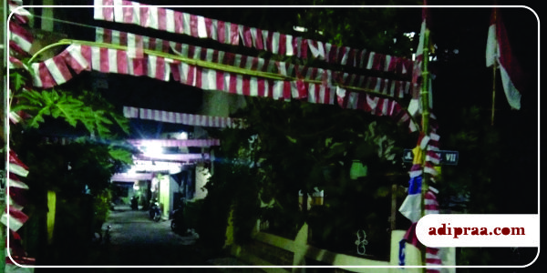 Salah satu gang di wilayah RT. 10 RW. 02 Minomartani | adipraa.com