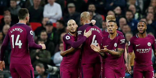 Video Cuplikan Gol Tottenham 1-3 Manchester City I Premier League Pekan Ke-34