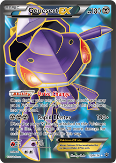 Genesect Fates Collide Pokemon Card