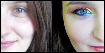 Płomienny makijaż Karoliny... czyli Metamorfoza #7 :)