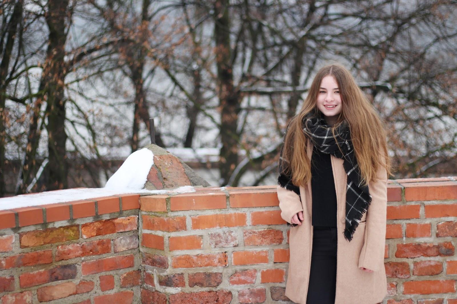 daria piotrowska płaszcz na zimę wiosnę ootd