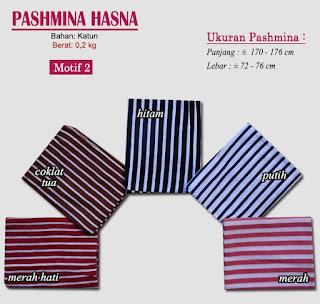 Pashmina monochrome murah bergaya modern dan trendy-hasna 2