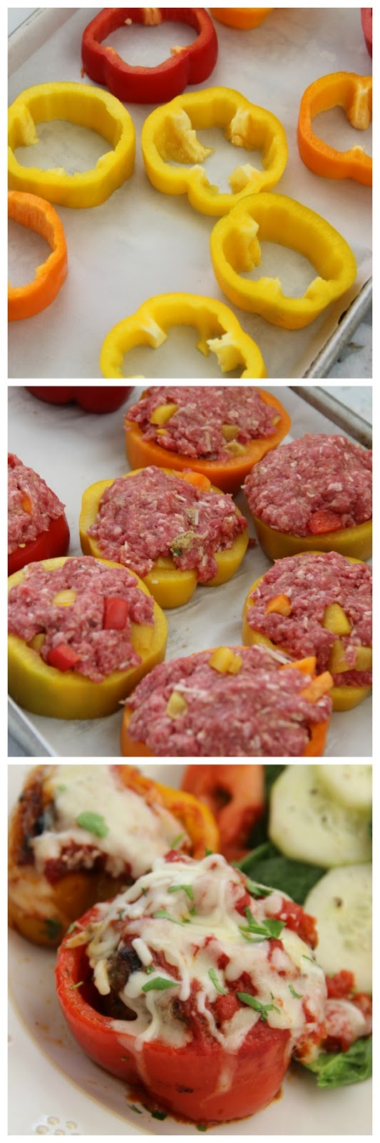 The Perfect Mini Meatloaf Pepper Rings