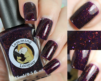 Lemming Lacquer Just Like The Gypsy Woman Said | Damn It, I had Something For This; An Archer Inspired Collection