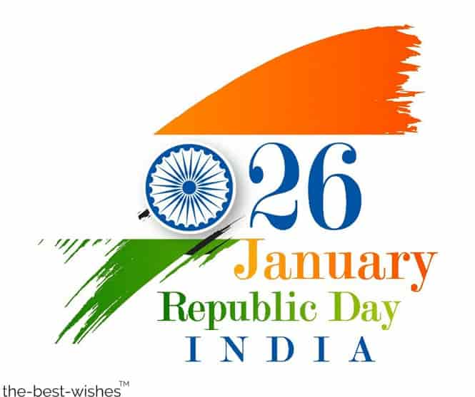 wishing you a happy republic day of india