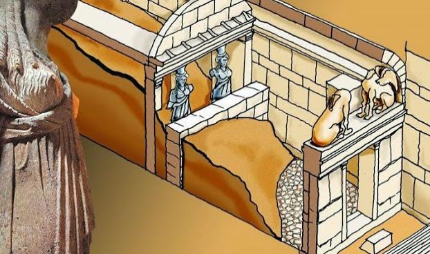 """Μενδώνη για Αμφίπολη: «Υπάρχει πύλη που πάει προς τα κάτω» - Η λέξη ... κλειδί είναι το """"προς τα κάτω""""!!!"""