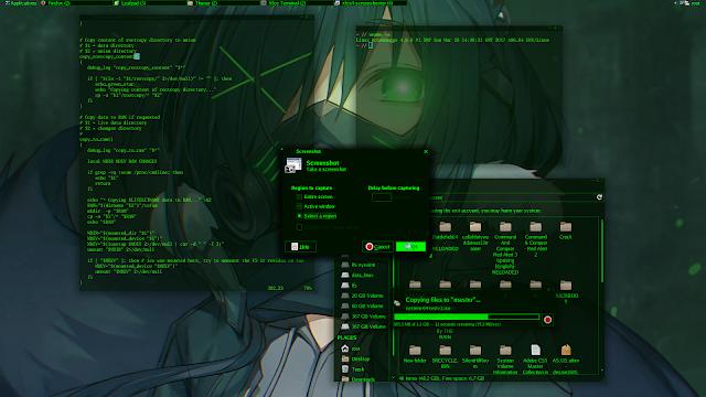 Kolomonggo hacker themes