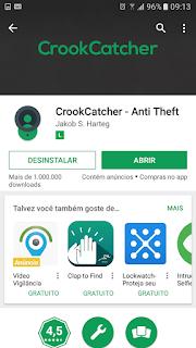 app que tira foto de quem tenta desbloquear