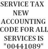 Accounting Code for Negative List Approach