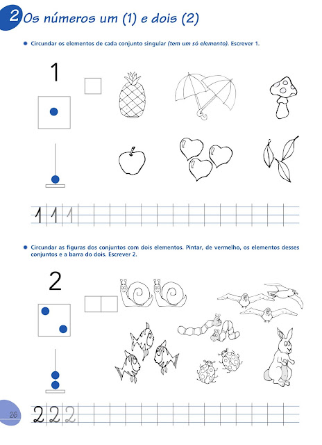 Atividades de Matematica 1 Ano