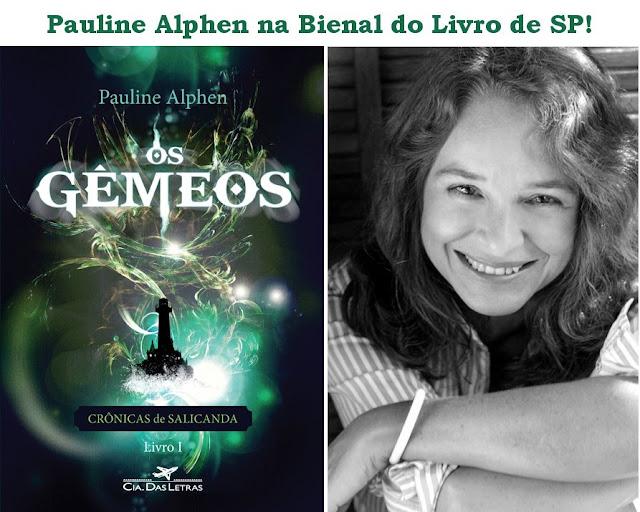 News: Bate papo com a autora Pauline Alphen na Bienal do Livro de SP 7