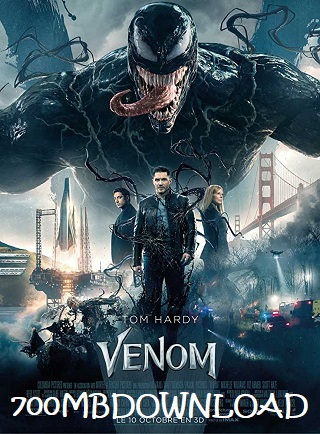 Venom 2018 English 1GB BRRip ESubs 720p
