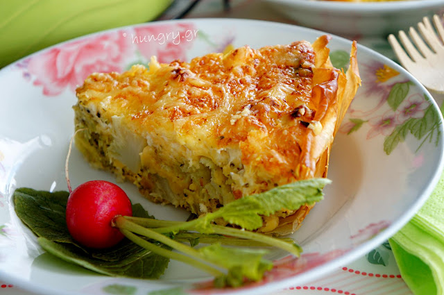 Broccoli and Feta Savory Tart