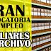 GRAN CONVOCATORIA LABORAL AUXILIARES DE ARCHIVO. PRESÉNTESE ESTE 12 DE OCTUBRE