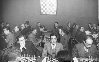 Match a 20 tableros entre el Club Ajedrez Manresa y el Club Ajedrez Terrassa en 1935