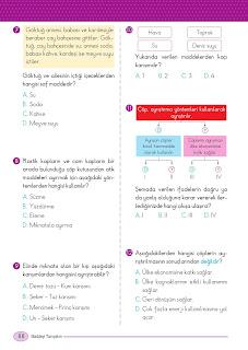 5. Sınıf Arapça Ders Kitabı Cevapları Mektep Sayfa 88