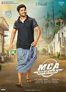 MCA [Middle Class Abbayi] First Look Poster
