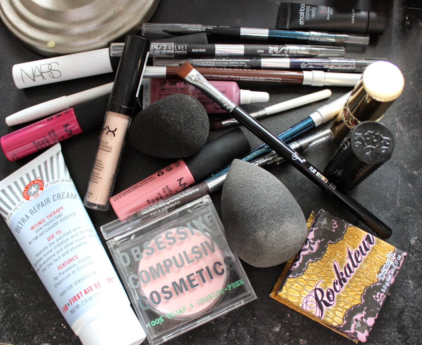beauty, makeup, haul