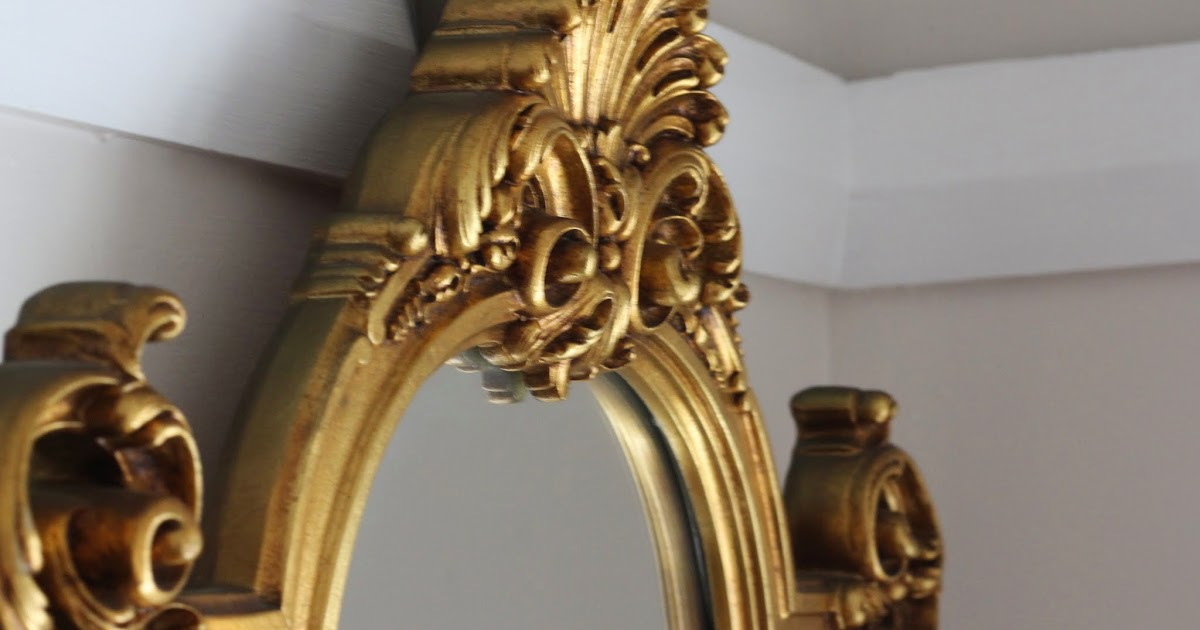 Lilyfield Life Gilded Vintage Mirror Keep Sell Paint