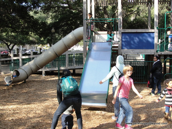 playground in Central Park in San Mateo, California