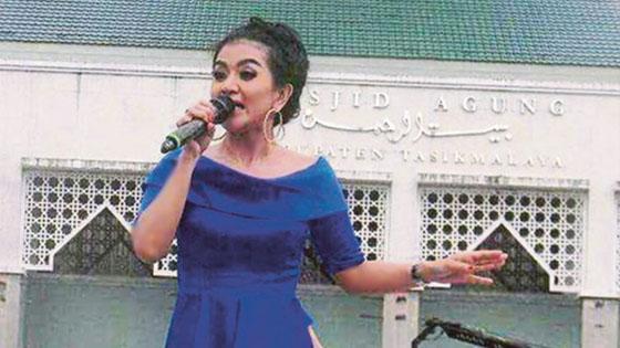 Konsert Dangdut Depan Masjid Dikecam Netizen