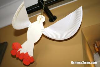 Pentecost Dove Craft