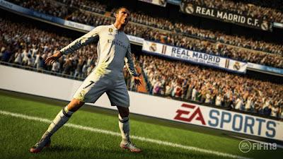 FIFA 18 a salir este 29 de Septiembre con Cristiano Ronaldo en portada
