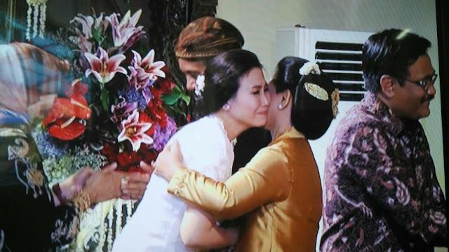Veronica Tan Hadiri Pernikahan Putri Presiden Jokowi