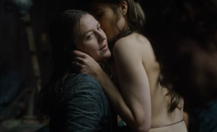 Yara Greyjoy de Game of Thrones.