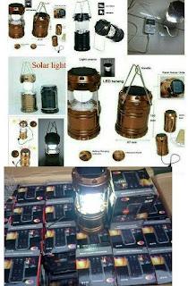 Lampu Lentera Emergency LED Tarik Tenaga Surya