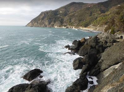 passeggiata a mare di Framura