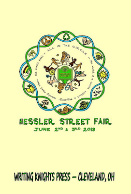 image of the cover of the Hessler Street Fair anthology from Writing Knights