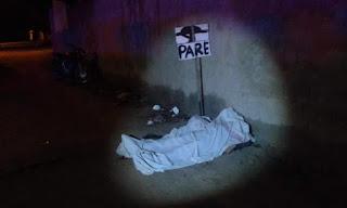 Homem é morto a tiros por encapuzados na noite desse domingo em Jaçanã, no RN