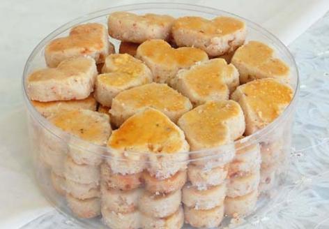 cara buat Kue Kering Kacang Keju Sederhana