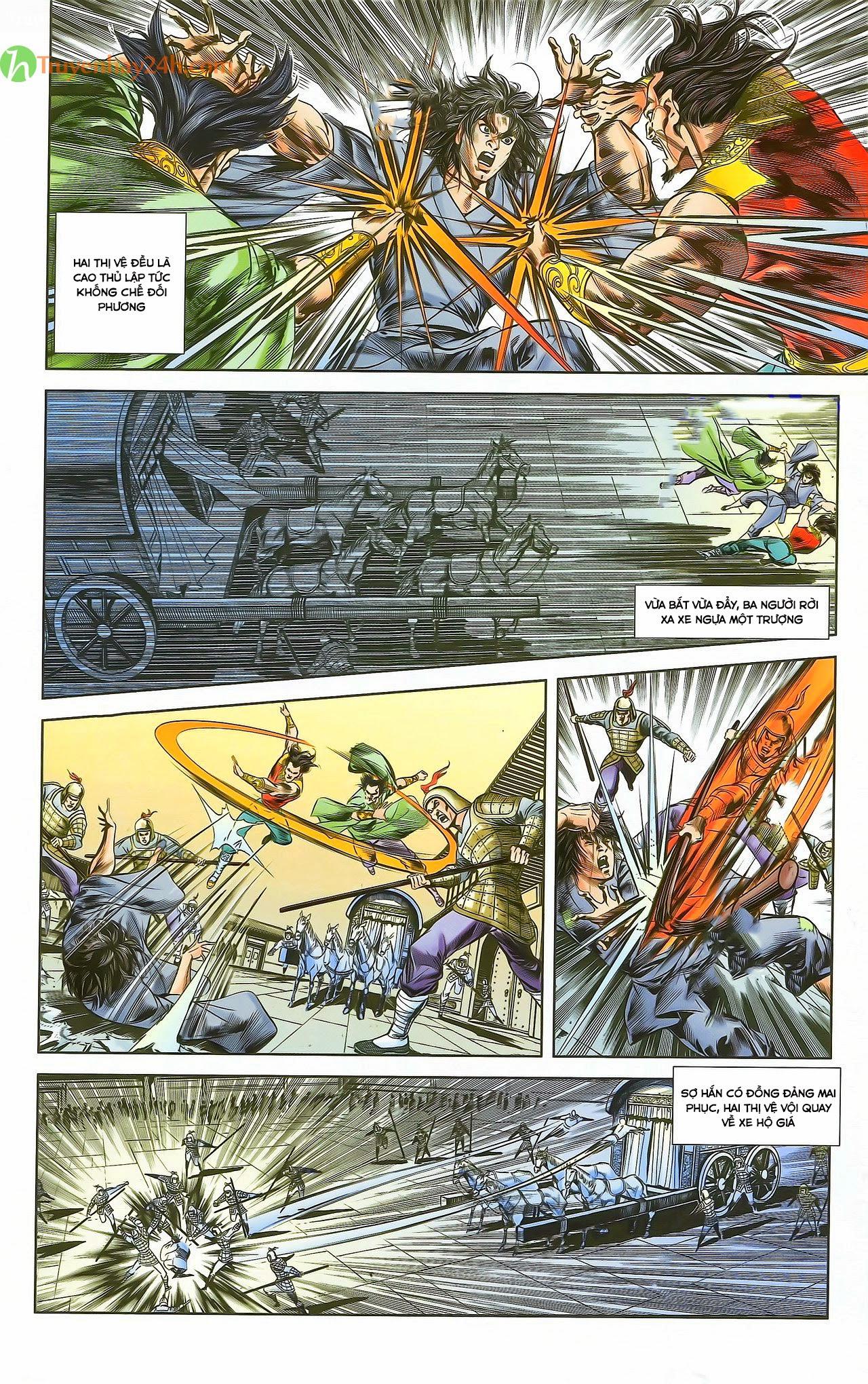 Tần Vương Doanh Chính chapter 29.1 trang 3
