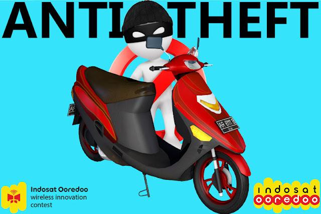 Setrum Pencuri Kendaraan Lewat Aplikasi Anti Maling