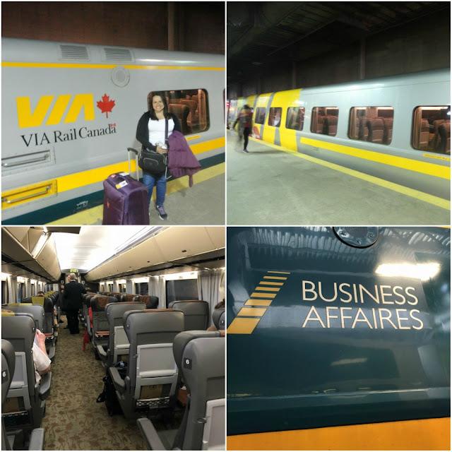 Como é viajar de trem pelo Canadá?