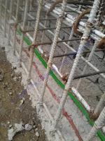 Waterstop adalah proses pengerjaan atau perlakuan khusus pada sambungan atau celah beton
