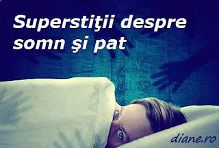 Superstiţii despre somn, dormit şi pat