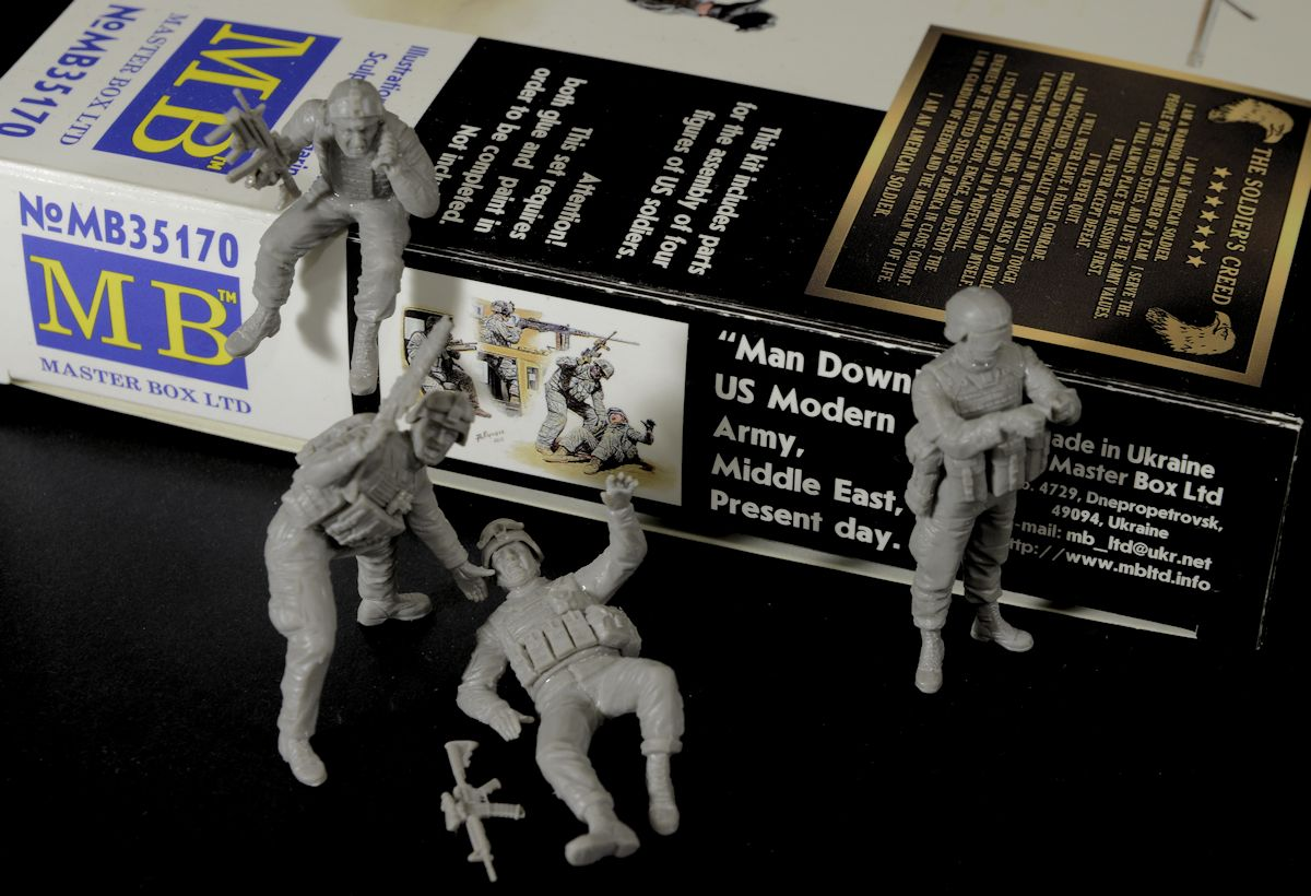 The Modelling News: Construction Review: Masterbox's 35th