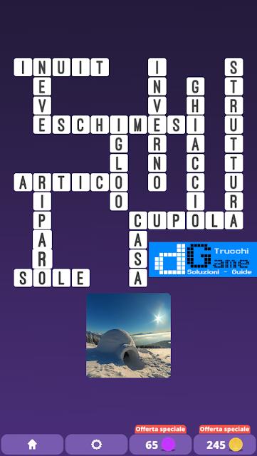 Soluzioni One Clue Crossword livello 13 schemi intermedia (Cruciverba illustrato)  | Parole e foto
