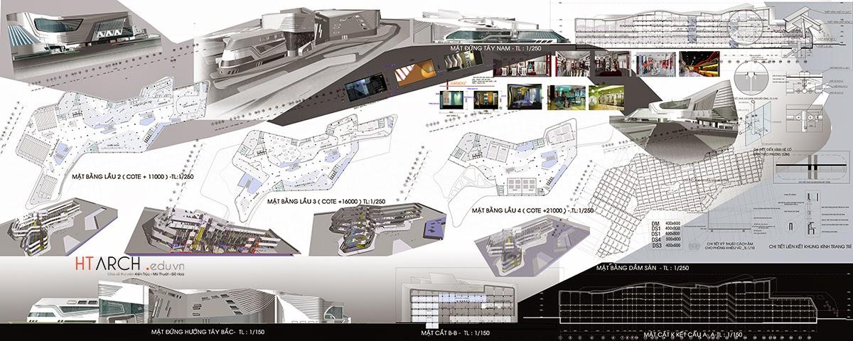 Download đồ án kiến trúc tổng hợp, architectural project