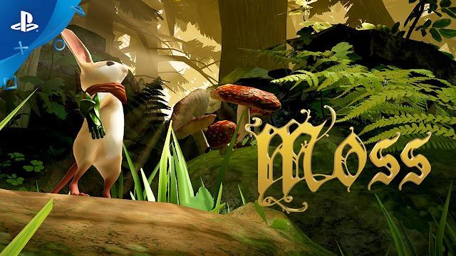 Quill, protagonista del videojuego Moss que se expresa en lengua de signos americana