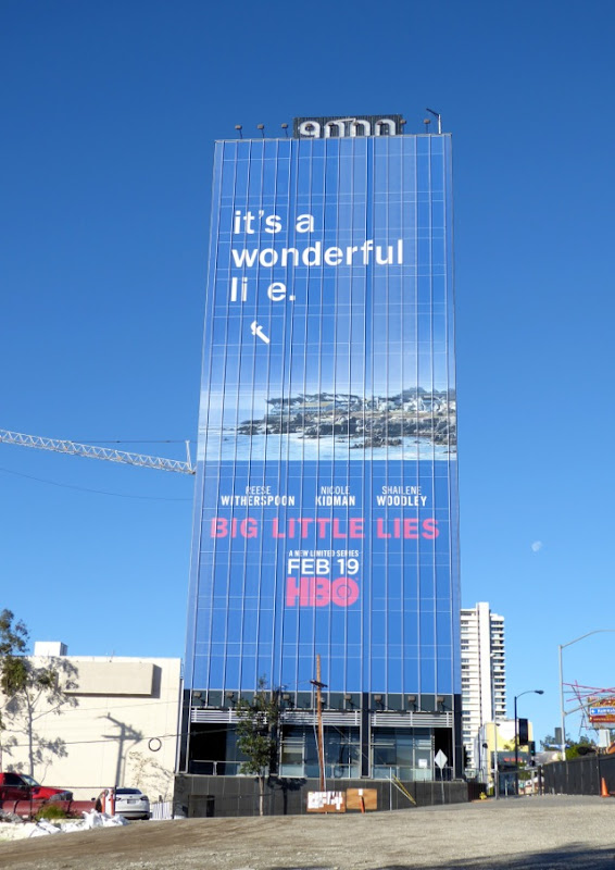 Giant Big Little Lies HBO limited series billboard